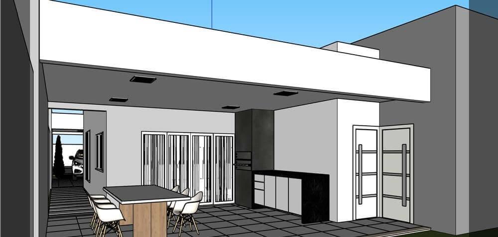 Projeto de arquitetura 3D