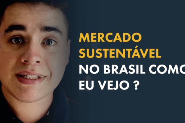 Mercado Sustentável no Brasil - Como eu vejo