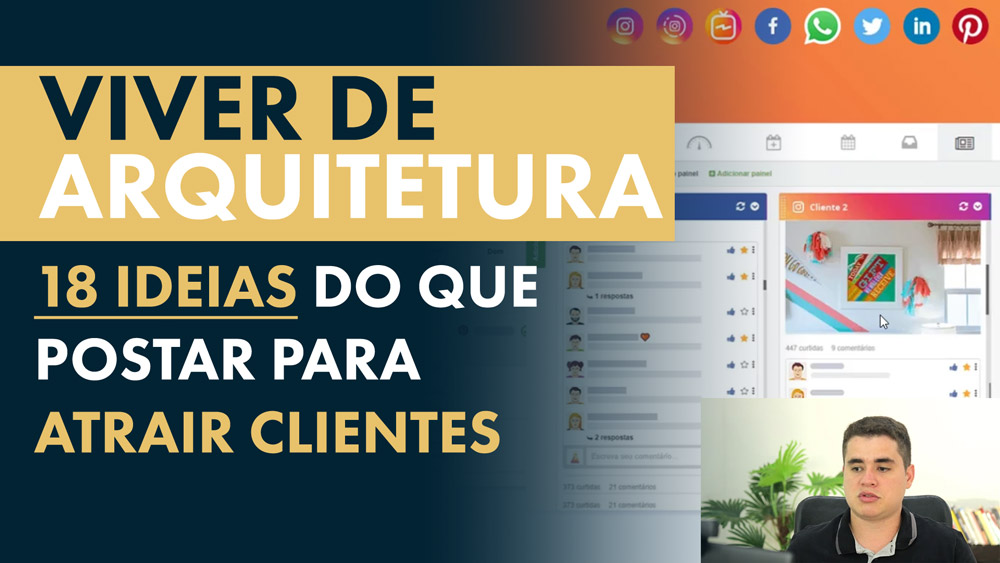Como atrair clientes de Arquitetura pelas redes sociais