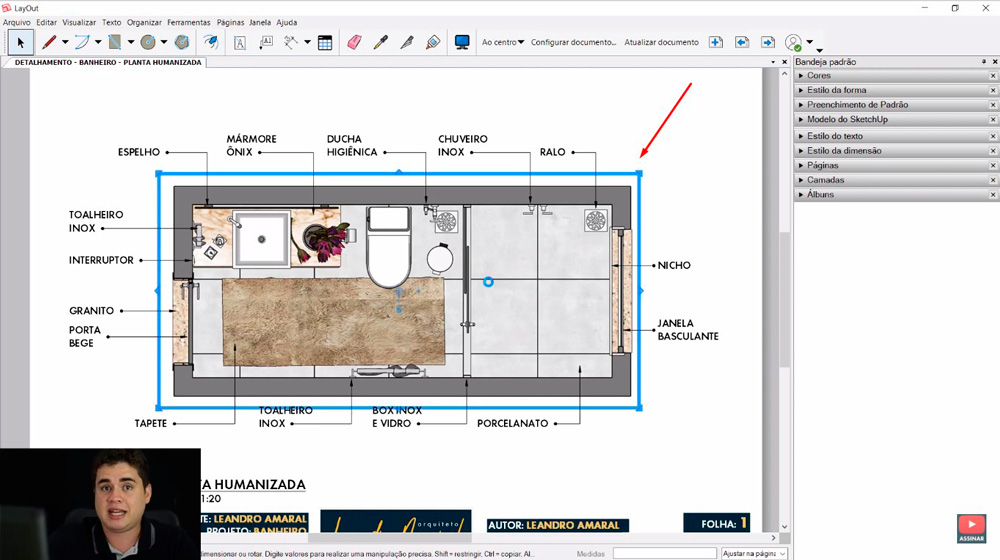Novidades do Layout do Sketchup