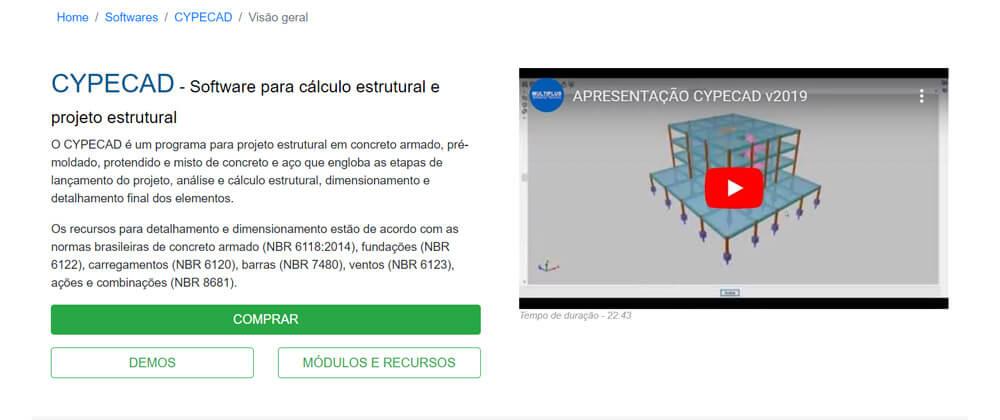 Cálculo Estrutural: Cypecad