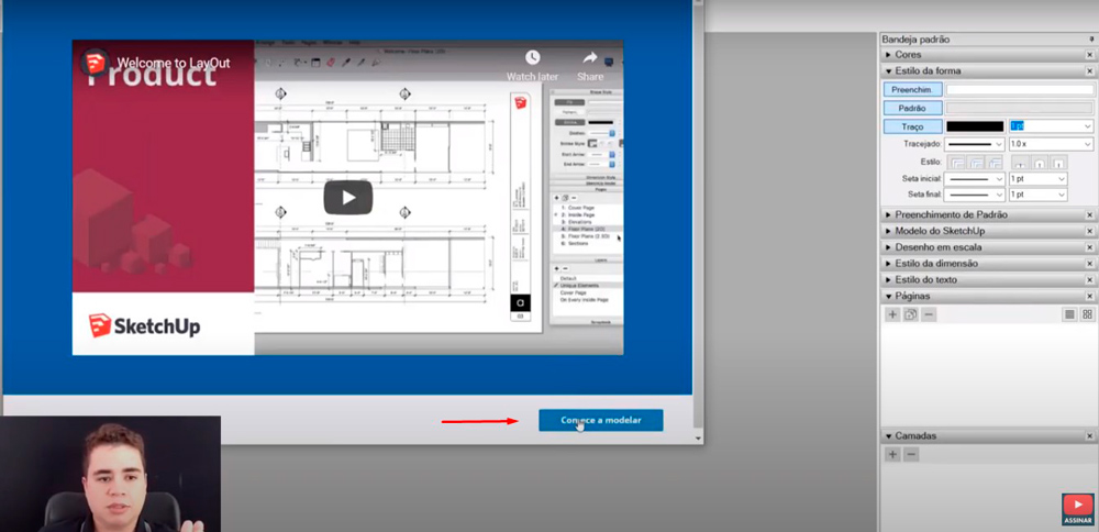 download sketchup e layout