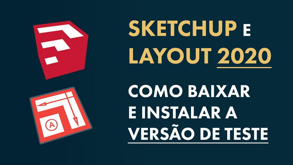 download sketchup e layout