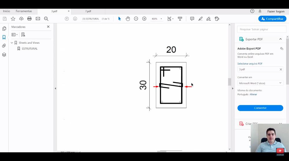 Como ler projeto estrutural?