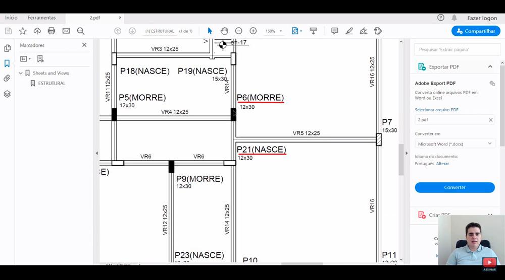 Como ler Projeto Estrutural Residencial?