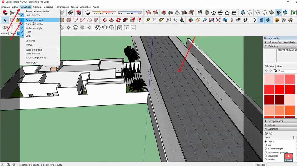 Recuperar projeto no Sketchup