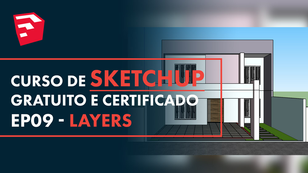 Layers e Etiquetas no Sketchup