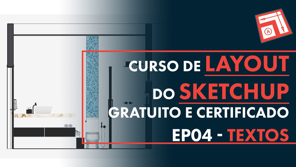 Textos no Layout do Sketchup