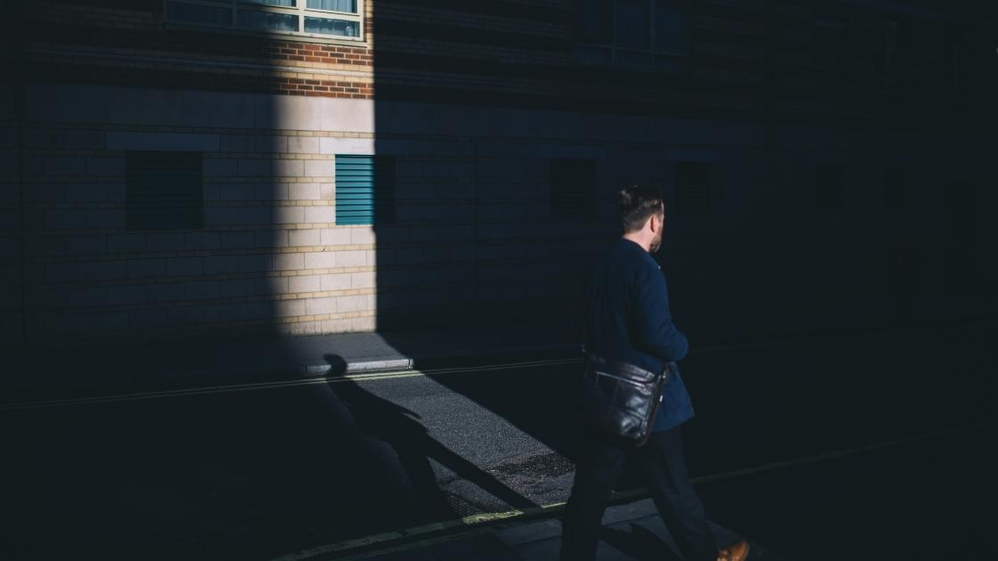 Fotografia na maquete eletrônica: Sombra