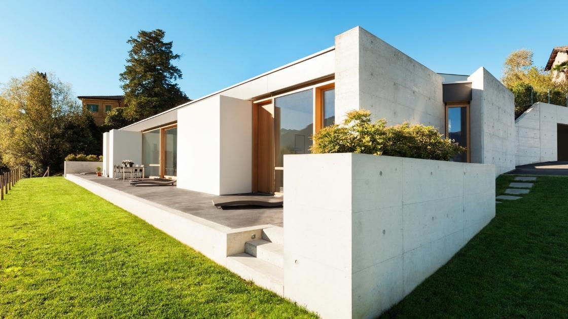 Projetos de casas modernas: Outras características