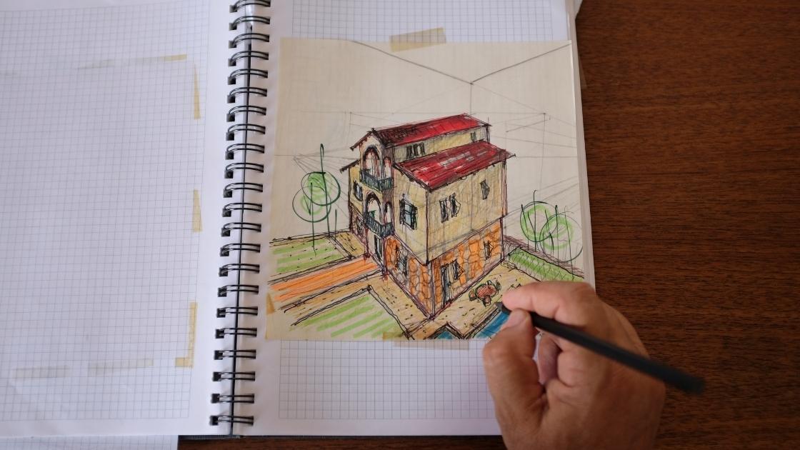 Croqui na arquitetura: o que é?