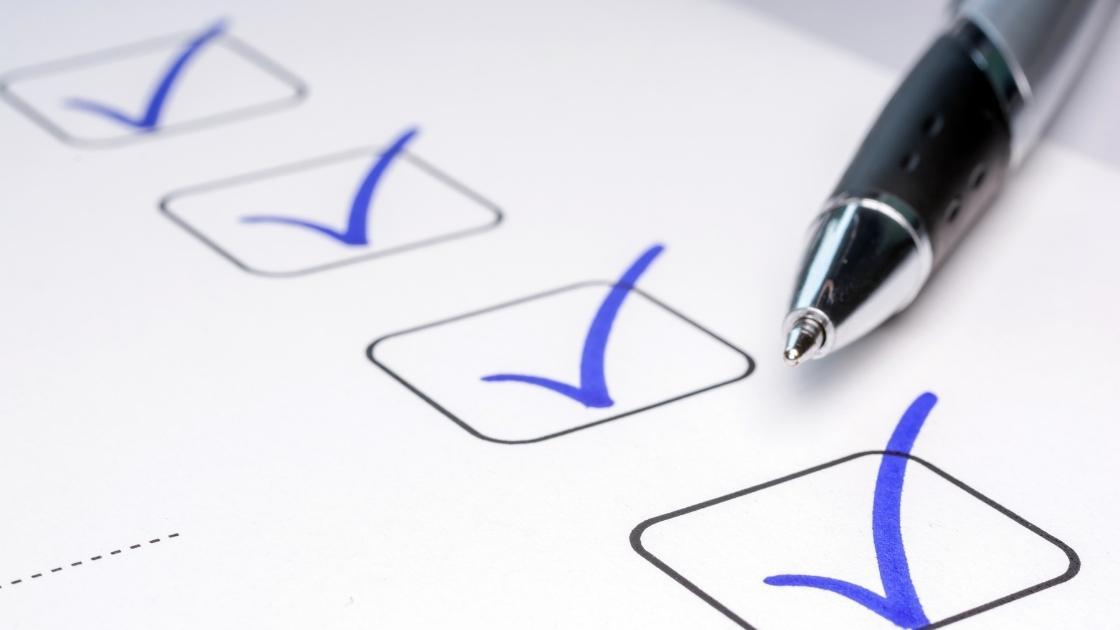 Projeto executivo: Checklist