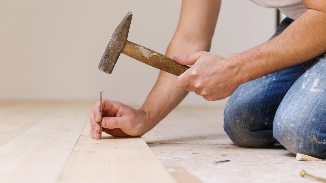 Tipos de piso: Assoalho de madeira