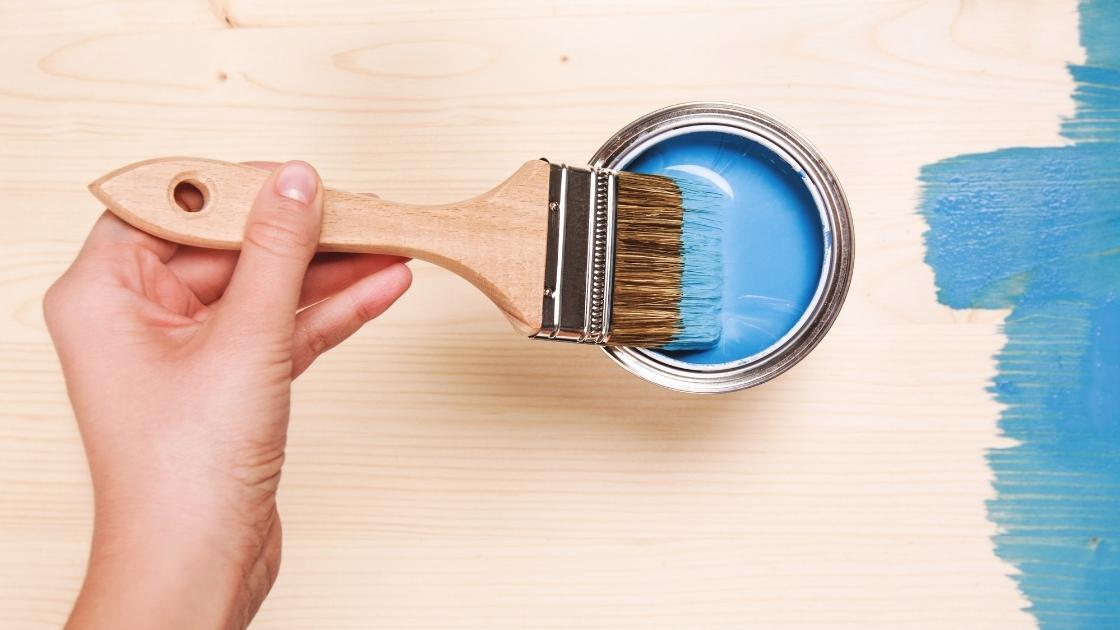 Tipos de tinta: Tinta esmalte sintética