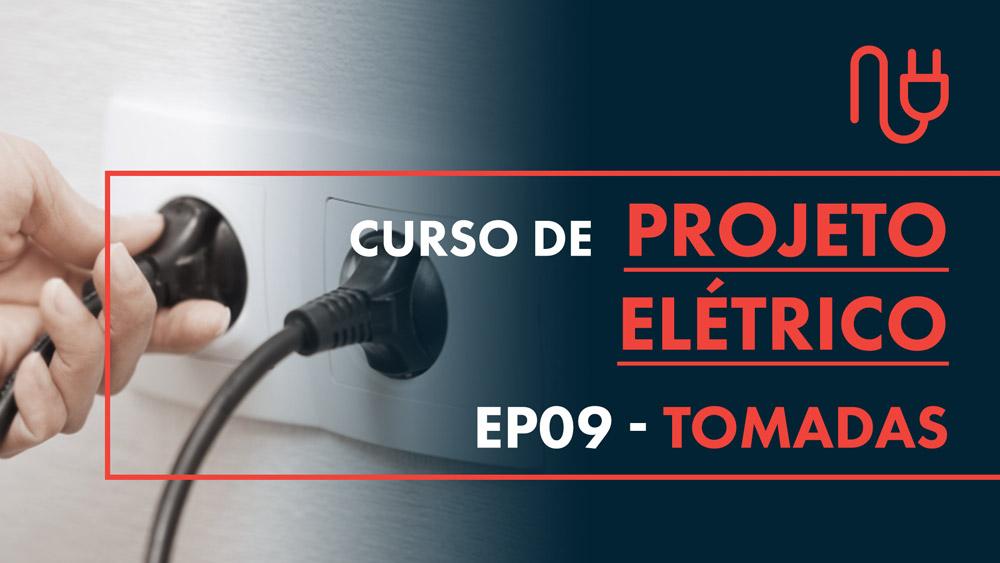 TOMADAS PROJETO ELÉTRICO