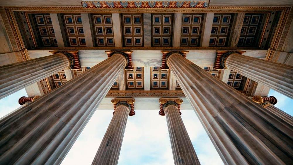 Arquitetura grega: Materiais
