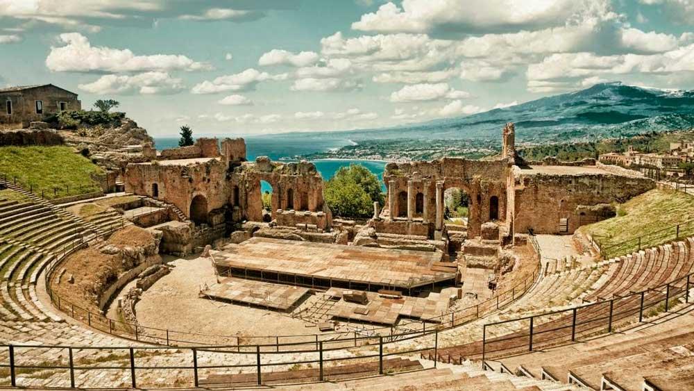 Arquitetura grega: Teatro grego