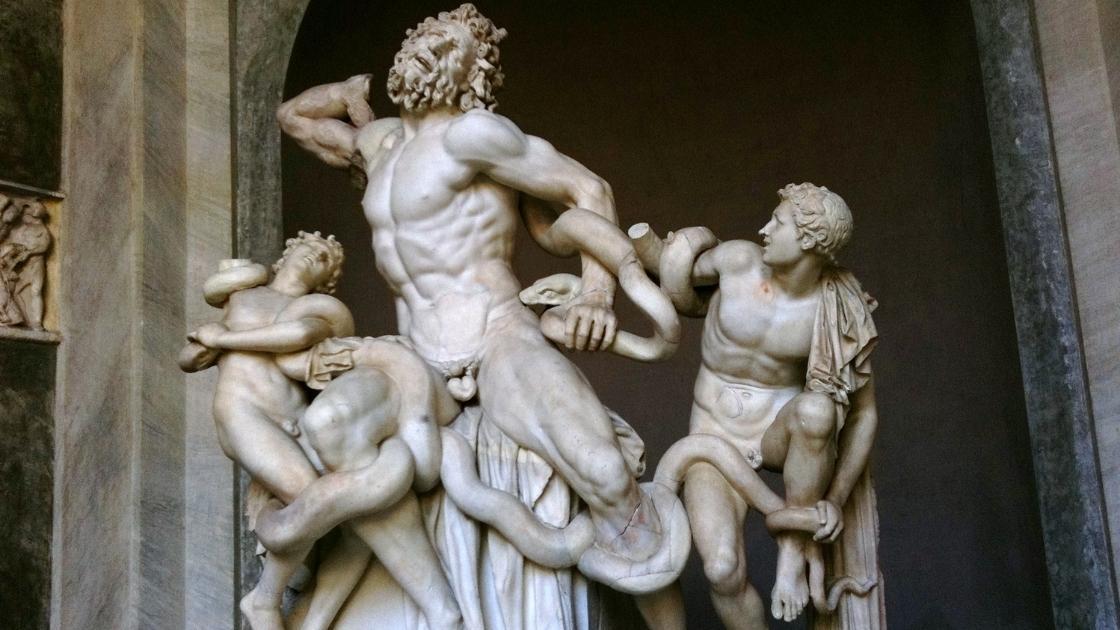 Arquitetura grega: Escultura grega